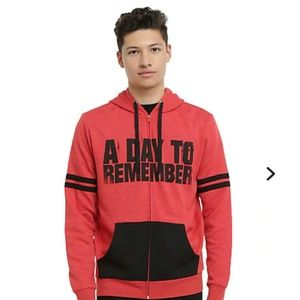 Red a day to Remember hoodie